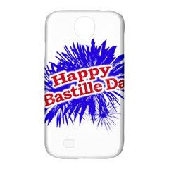 Happy Bastille Day Graphic Logo Samsung Galaxy S4 Classic Hardshell Case (PC+Silicone)