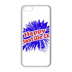 Happy Bastille Day Graphic Logo Apple iPhone 5C Seamless Case (White)