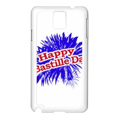 Happy Bastille Day Graphic Logo Samsung Galaxy Note 3 N9005 Case (White)