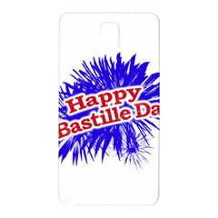 Happy Bastille Day Graphic Logo Samsung Galaxy Note 3 N9005 Hardshell Back Case