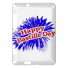 Happy Bastille Day Graphic Logo Kindle Fire HDX Hardshell Case