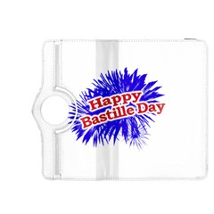 Happy Bastille Day Graphic Logo Kindle Fire HDX 8.9  Flip 360 Case
