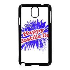 Happy Bastille Day Graphic Logo Samsung Galaxy Note 3 Neo Hardshell Case (Black)