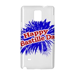 Happy Bastille Day Graphic Logo Samsung Galaxy Note 4 Hardshell Case