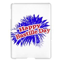Happy Bastille Day Graphic Logo Samsung Galaxy Tab S (10.5 ) Hardshell Case