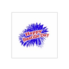 Happy Bastille Day Graphic Logo Satin Bandana Scarf