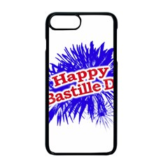 Happy Bastille Day Graphic Logo Apple iPhone 7 Plus Seamless Case (Black)