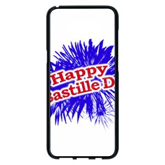 Happy Bastille Day Graphic Logo Samsung Galaxy S8 Plus Black Seamless Case