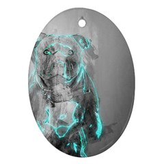 Dog Ornament (Oval)