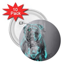 Dog 2.25  Buttons (10 pack)