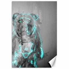 Dog Canvas 20  x 30