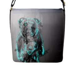 Dog Flap Messenger Bag (L)
