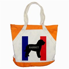 Barbet Name Silhouette on flag Accent Tote Bag