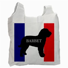Barbet Name Silhouette on flag Recycle Bag (Two Side)