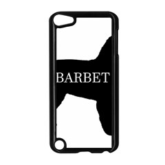 Barbet Name Silhouette on flag Apple iPod Touch 5 Case (Black)