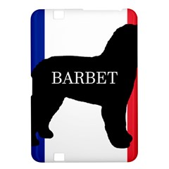 Barbet Name Silhouette On Flag Kindle Fire Hd 8 9