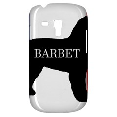 Barbet Name Silhouette on flag Galaxy S3 Mini