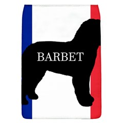 Barbet Name Silhouette on flag Flap Covers (L)