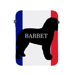 Barbet Name Silhouette on flag Apple iPad 2/3/4 Protective Soft Cases