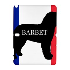 Barbet Name Silhouette on flag Galaxy Note 1