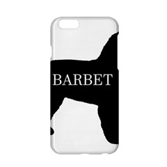 Barbet Name Silhouette on flag Apple iPhone 6/6S Hardshell Case