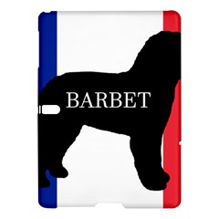 Barbet Name Silhouette on flag Samsung Galaxy Tab S (10.5 ) Hardshell Case