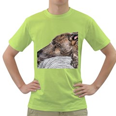 Greyhound Green T Shirt