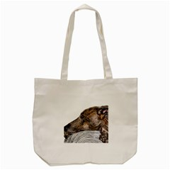 Greyhound Tote Bag (Cream)