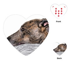 Greyhound Playing Cards (Heart)