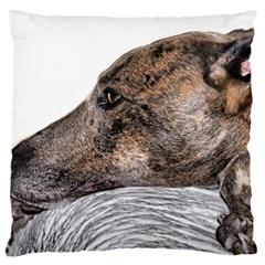 Greyhound Large Cushion Case (Two Sides)