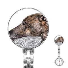 Greyhound Stainless Steel Nurses Watch
