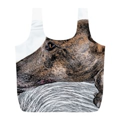 Greyhound Full Print Recycle Bags (L)