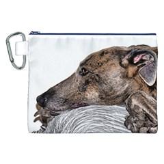 Greyhound Canvas Cosmetic Bag (xxl)