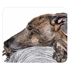 Greyhound Double Sided Flano Blanket (Small)