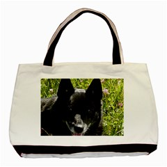 Norwegian Buhund Basic Tote Bag (Two Sides)