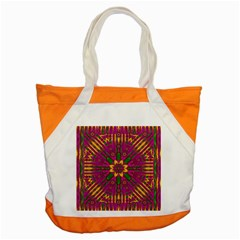 Feather Stars Mandala Pop Art Accent Tote Bag