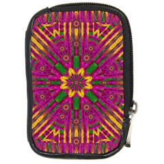 Feather Stars Mandala Pop Art Compact Camera Cases