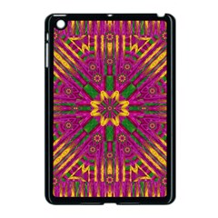 Feather Stars Mandala Pop Art Apple iPad Mini Case (Black)