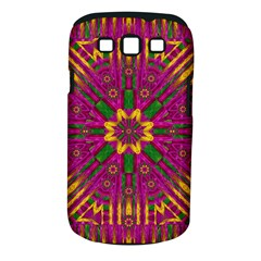 Feather Stars Mandala Pop Art Samsung Galaxy S Iii Classic Hardshell Case (pc+silicone)