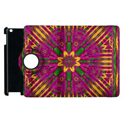 Feather Stars Mandala Pop Art Apple iPad 3/4 Flip 360 Case