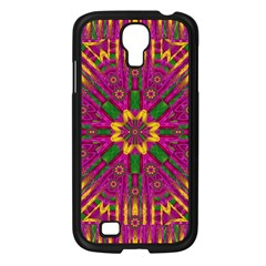 Feather Stars Mandala Pop Art Samsung Galaxy S4 I9500/ I9505 Case (Black)
