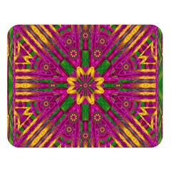 Feather Stars Mandala Pop Art Double Sided Flano Blanket (Large)