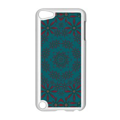 Stars Of Golden Metal Apple Ipod Touch 5 Case (white)
