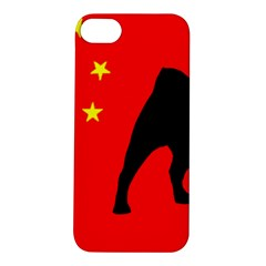 Pug China Flag Apple iPhone 5S/ SE Hardshell Case