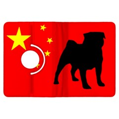 Pug China Flag Kindle Fire HDX Flip 360 Case