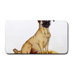 Pug Color Drawing Medium Bar Mats