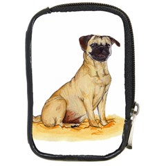 Pug Color Drawing Compact Camera Cases