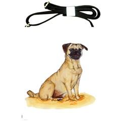 Pug Color Drawing Shoulder Sling Bags