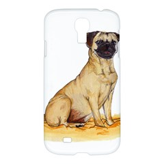 Pug Color Drawing Samsung Galaxy S4 I9500/I9505 Hardshell Case