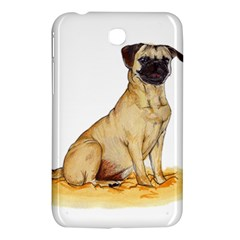 Pug Color Drawing Samsung Galaxy Tab 3 (7 ) P3200 Hardshell Case